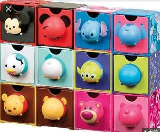 7-11 印花換 迪士尼Tsum Tsum百變組合BOX各款