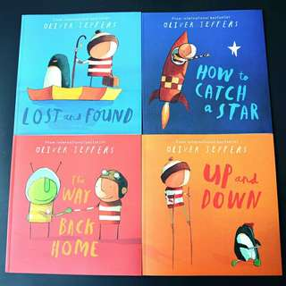 Lost And Found - Oliver Jeffers (4 Books Set)