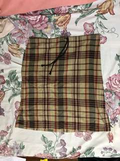 Grid Retro Skirt