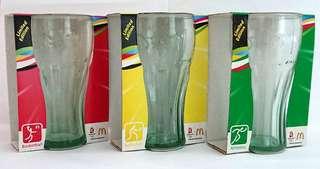 Olympics 2002 Luminarc Coca Cola Contour Glass