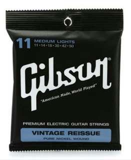 GIBSON Vintage Reissue 11 Guitar Strings