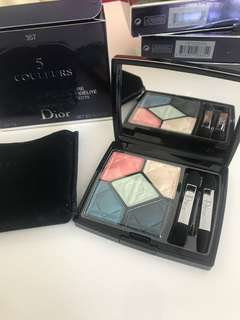 ‼️SALE‼️800 ONLY!! 💯 Auth Dior 5 Couleurs Palette