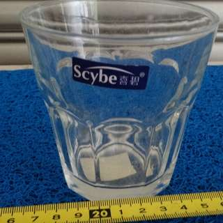 Scybe heat-resistant transparent glass cup - 200ML