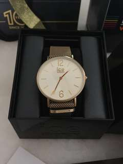 Ice Watch CITY milanese - Gold matte - Gold - Small - 2H