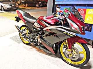 Kawasaki kr krr zx 150 (nego) RESTORED coe december 2023