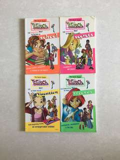 W.I.T.C.H The Secret Books
