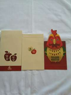 2 pcs *Somersby* Red Packet / Ang Pow / Ang Pao / Hong Bao