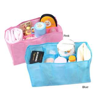 Baby Diaper Changing Divider Storage Organizer Bag