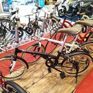 "Sepeda london taxi folding bike 20"" bisa dicicil tanpa kartu kredit"