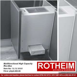 Rotheim Multifunction High Capacity Rice Box