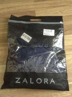 Zalora Double Ruffle Sleeve Dress