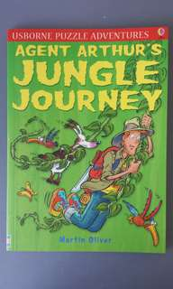 Usborne Puzzle Adventures Agent Arthur's Jungle Journey