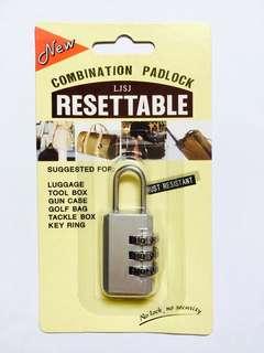 Brand New Combination Padlock/Lock