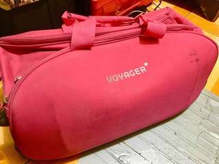 PINK VOYAGER TRAVEL LUGGAGE TROLLEY