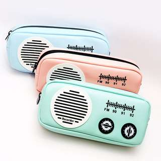 Retro FM Radio Pencil Case