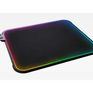 【全新未拆】賽睿 Steelseries SS QcK Prism 電競鼠墊 RGB 布質/塑膠 雙面滑鼠墊