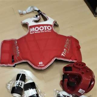 taekwondo gear for kids chest protectorr
