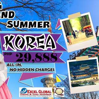 ALL-IN KOREA TOUR PACKAGE SALE!!!