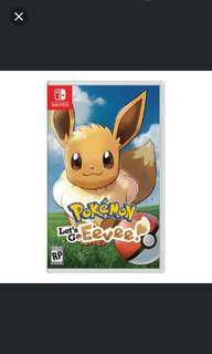Switch Pokemon Let's Go Eevee (16/11/18)