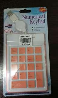 Numerical Keypad