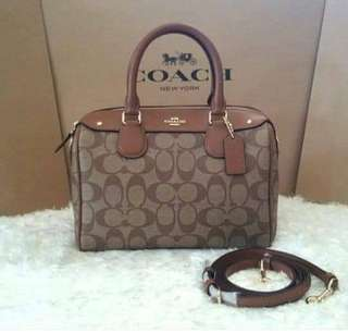 ( READY  POS ) ORI Coach Handbag mini Bannet
