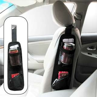 Car Hanging Storage Bag Seat Side Organizer