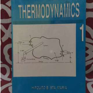 📚Thermodynamics by Hipolito and Sta. Maria