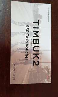 Timbuk 2 Voucher to let go cheap