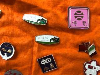 Clearing Stocks: Badges from various organisations, $1 Each, Lot 4
