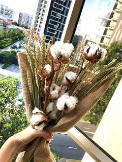 Burlap sack Dry bouquet