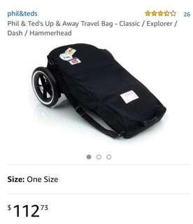 Phil and Teds Up and Away Travel Bag (Universal Pram Bag)