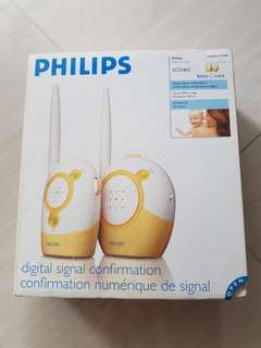 Preloved Philips Baby Monitor