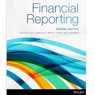 Financial reporting ( Second Edition ) [E-BOOK]