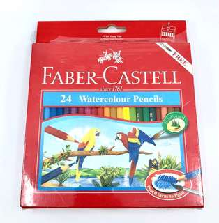 (Brand New) Faber-Castell Water Colour Pencils