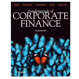 Fundamentals of Corporate Finance (Third edition) [E-book]