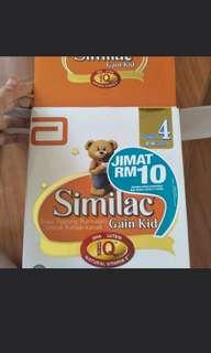 Similac gain kid stage 4 - 1.8kg (3x600gm)