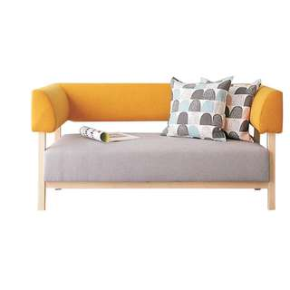 customize fabric sofa with solid wood frame