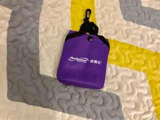美贊臣 紫色 環保袋