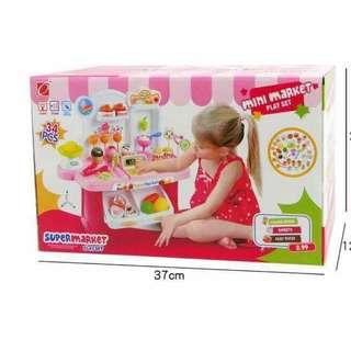Mini market play set