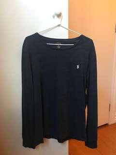 Polo Ralph Lauren navy long-sleeve
