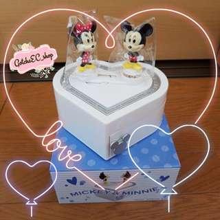 🇯🇵✨日本直送✨MICKEY & MINNIE SWEET HEART 音樂盒✨