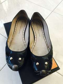 Marc jacobs patent mouse flat shoes