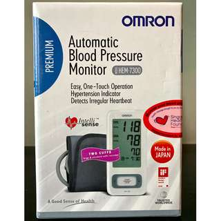 OMRON (HEM-7300) Automatic Blood Pressure Monitor made in Japan
