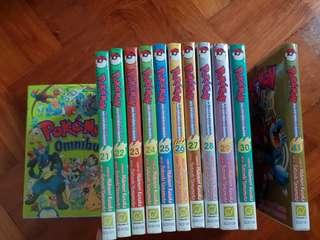Pokemon Adventures comics manga