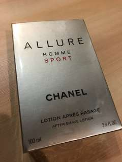 Chanel Allure Aftershave