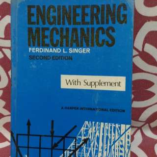 📚Engineering Mechanics by Singer