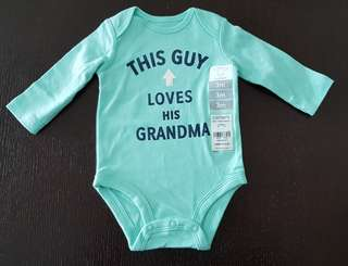 Carters Bodysuit 3 months. New