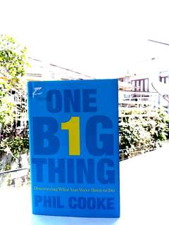 Business Book - One Big Thing (English)