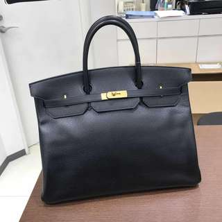 Hermes birkin 40 in black