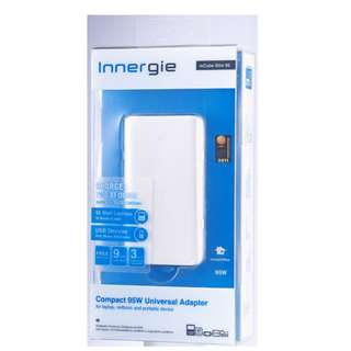 Used Innergie mCube Slim 95 Laptop Universal Power Adapter with extra Lenovo tip